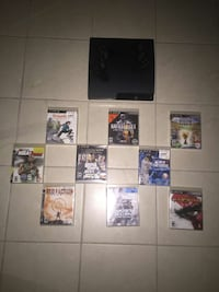 ps3 with 9 games and 2 controls Chicago, 60707