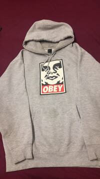gray and red zip-up hoodie 541 km