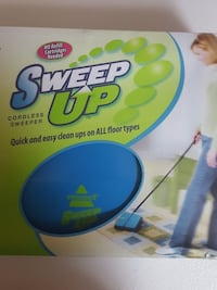 Bissell cordless sweeper. Brand new in box. Never