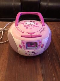 Hello kitty CD/ tape player