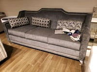 Canadian Made Sofa. Love and chair available.  Your choice of fabric.