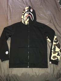 Bathing Ape Zip Up Hoodie (Large) Milton, L9T 4K1