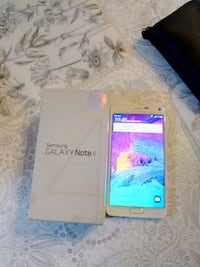 "Samsung Galaxy note 4 5,7"". 32GB white   box charg Stockholm"