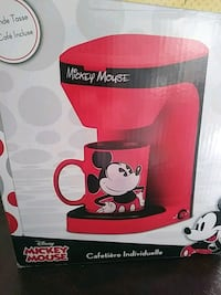 NEW MICKEY MOUSE ONE COFFEE MAKER  Shreveport, 71106