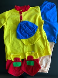 Halloween Costume for Girls and Boys, Size 4-6T Montréal