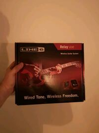 Line 6 G30 Wireless Relay Guitar System Barrie, L4N 8N7