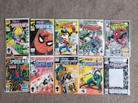Lot of 1970s-1990s Marvel Spiderman Comics  Calgary, T2R 0S8