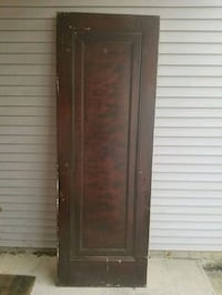 3 vintage solid wood doors. $30 ea or $75 for all