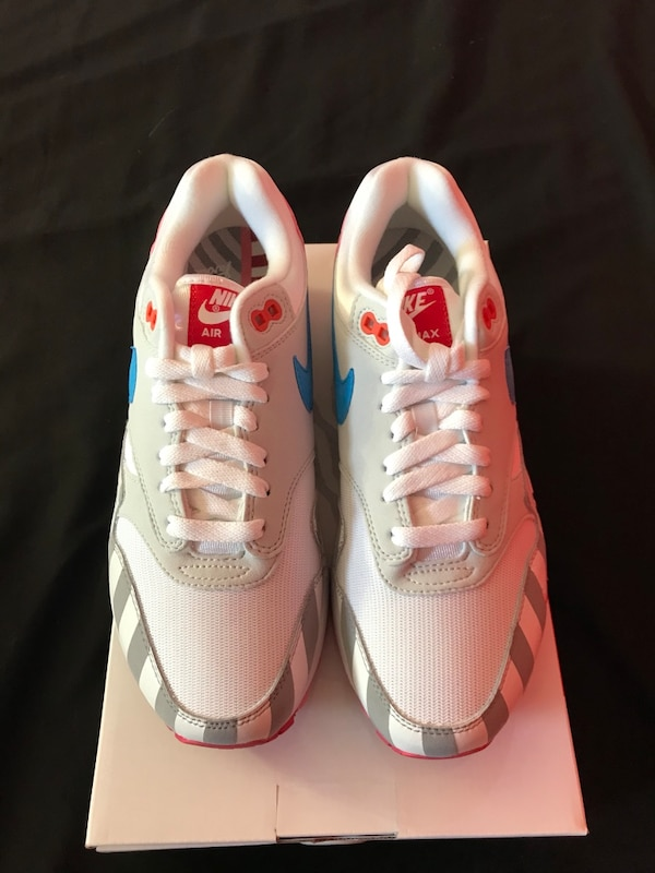 Used Nike Air Max 1 Parra Size 7.5 Mens for sale in New York - letgo 35ff9f6ed233