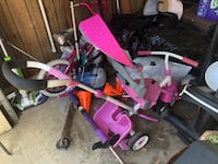 Tricycle stroller