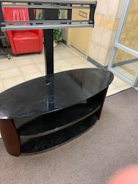 """Tv stand & comes with tv 48"""" flat screen"""