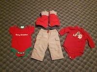 Baby's first Christmas clothes (3-6mo)
