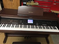 Organ Digital Piano Brand Technics. Works great!! Play a lot of songs included bench  San Diego, 92114