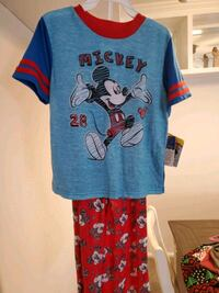 Boys 5T PJS NEW TAGS DISNEY Mickey Mouse