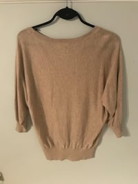 Beige sweater top  Kelowna