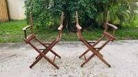 Vintage Director Chairs
