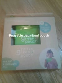 Reusable baby food pouch 50 km