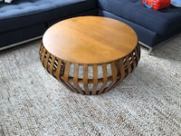 West elm bentwood coffee table, acorn