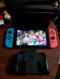 Nintendo Switch Console, Dock, Joycon Controllers, Rome, 30161