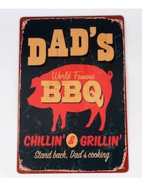 Dads bbq wall decor  Châteauguay, J6K 2M7