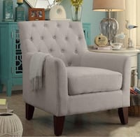 Goodfield Armchair - Silver Upholstery  Heath, 43056