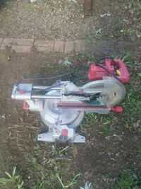 gray and red miter saw Upper Marlboro, 20774