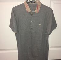 Burberry Gray polo shirt