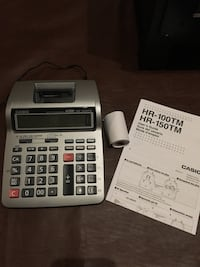 Casio Printing Calculator HR-100TM Centreville, 20121