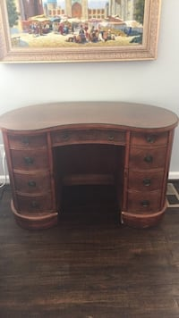 Kidney shape desk from early 1900's Falls Church, 22046