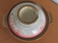 round white and red ceramic plate Richmond, V7E 4Y7