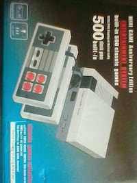 Mini game anniversary edition entertainment system