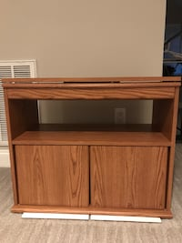 TV Table with storage