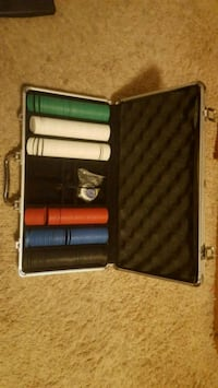 Poker chip case Cedar Falls