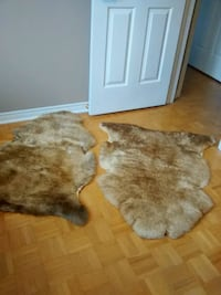 brown and white fur area rug Vaughan, L4L 5J2