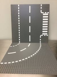 LEGO Curved and Crosswalk Road baseplates Vancouver, V5M 1P2