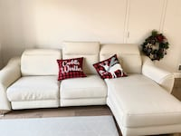 Battery powered leather couch Fair Lawn, 07410