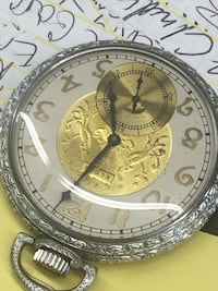 round silver-colored chronograph watch with link bracelet San Antonio, 78221