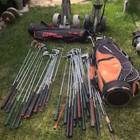 Golf clubs including Left Handed $5 Mississauga, L5M 1C7