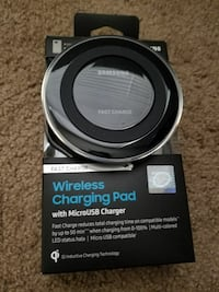 Wireless charging pad. Brand new with box.