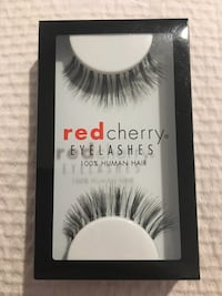 Brand new red cherry eyelashes in ivy
