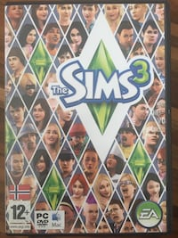 The Sims 3 PC DVD rom tilfelle