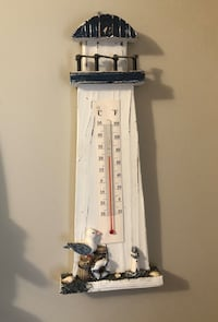 Beach / Nautical Themed Thermometer Decor