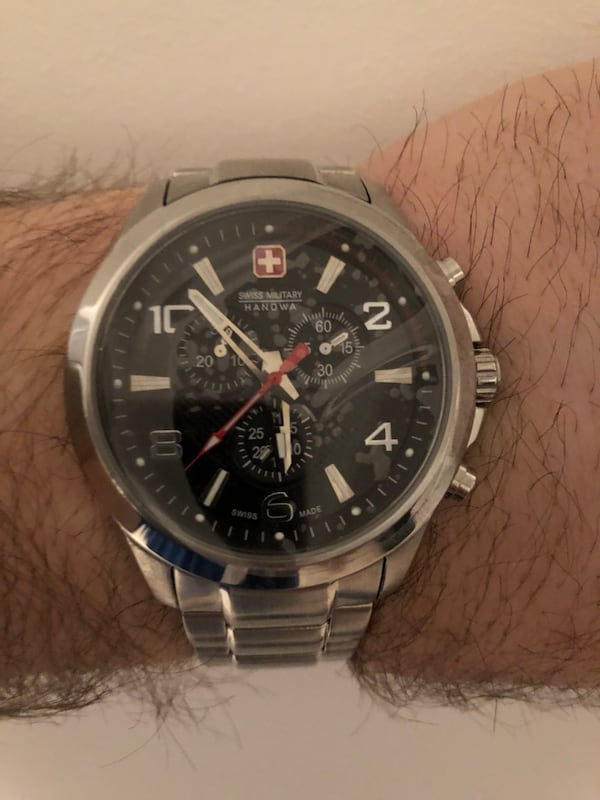 Swiss Military Hanowa Predator Analogue Chronograph Watch 5cfedd1e-abef-4bc3-a0b8-4adb627a59f6