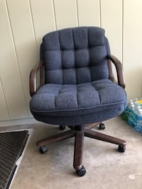 black and gray rolling armchair Fort Myers, 33907