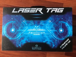 Dynasty Toys Laser Tag Set Toys w/Carrying Case