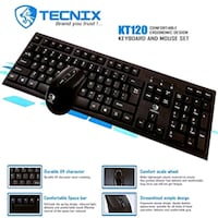 Wired Keyboard Mouse Brand New Surrey, V3R 5C1