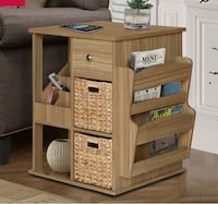 End Table w/ drawers