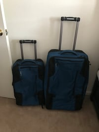 Two LL Bean suitcases excellent condition