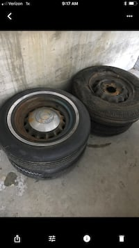 car wheels with tires Greenfield, 93927