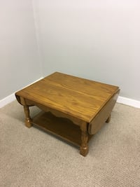 rectangular brown wooden coffee table Abbotsford, V2T 2H4